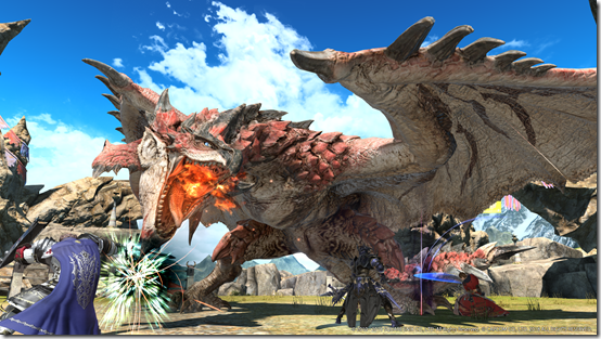 Final Fantasy XIV - The Hunt for Rathalos is On - Coliseum