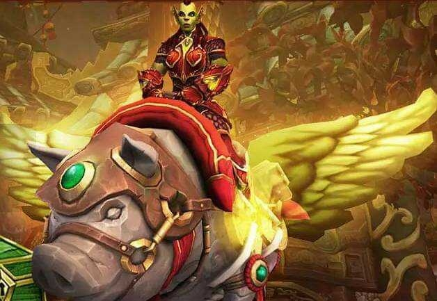 Blizzard Unveils Yet Another World of Warcraft Store Mount