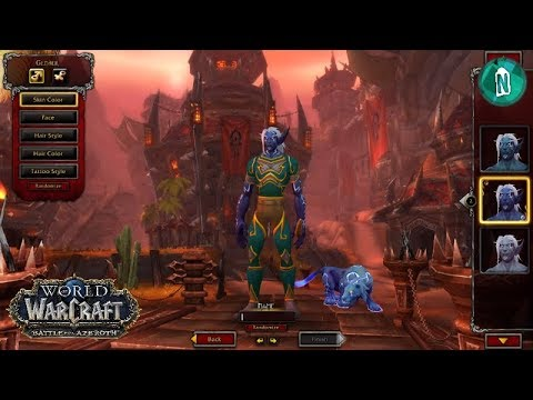 World of Warcraft Classic - Character Creation & Tiny Tour